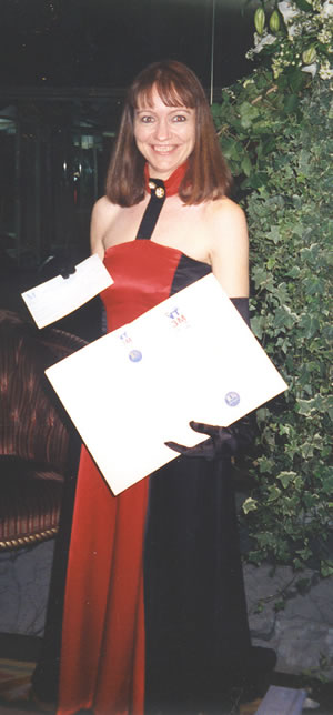Helen Knox - as Finalist in 3m Nursing Times Awards, 1994
