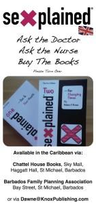 Sexplained Books - Flyer for Clinics, Parents and Teachers